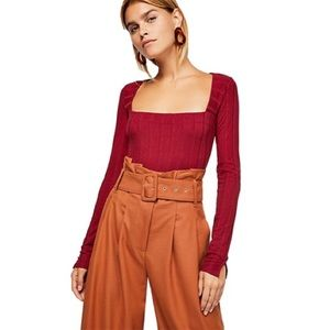 NWT Free People Body Suit